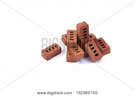 miniature bricks