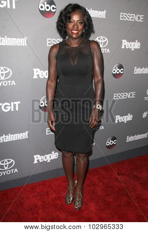 LOS ANGELES - SEP 26:  Viola Davis at the TGIT 2015 Premiere Event Red Carpet at the Gracias Madre on September 26, 2015 in Los Angeles, CA