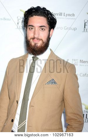 LOS ANGELES - SEP 25:  Andrew Ahmed at the Catalina Film Festival Friday Evening Gala at the Avalon Theater on September 25, 2015 in Avalon, CA