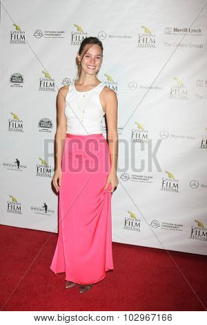 LOS ANGELES - SEP 25:  Bailey Noble at the Catalina Film Festival Friday Evening Gala at the Avalon Theater on September 25, 2015 in Avalon, CA