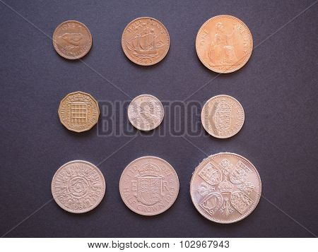Predecimal Gbp Coins