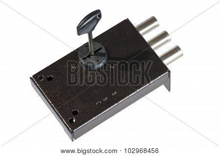 The Door Lock With Keys