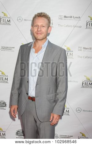 LOS ANGELES - SEP 25:  Gabriel Olson at the Catalina Film Festival Friday Evening Gala at the Avalon Theater on September 25, 2015 in Avalon, CA