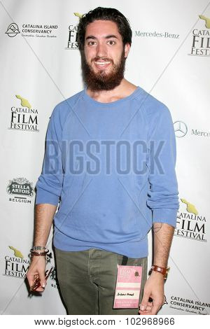 LOS ANGELES - SEP 25:  Andrew Ahmed at the Catalina Film Festival Short Film Block at the Avalon Community Church on September 25, 2015 in Avalon, CA