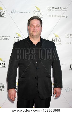 LOS ANGELES - SEP 25:  Jason Tegos at the Catalina Film Festival Friday Evening Gala at the Avalon Theater on September 25, 2015 in Avalon, CA