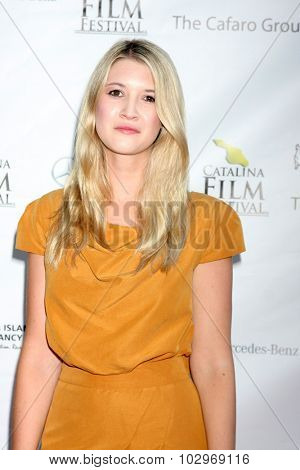 LOS ANGELES - SEP 25:  Hilary Harpster at the Catalina Film Festival Friday Evening Gala at the Avalon Theater on September 25, 2015 in Avalon, CA