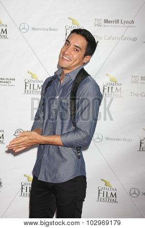 LOS ANGELES - SEP 25:  Keahu Kahuanui at the Catalina Film Festival Friday Evening Gala at the Avalon Theater on September 25, 2015 in Avalon, CA
