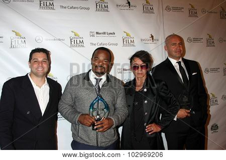 LOS ANGELES - SEP 25:  Ron Truppa, F. Gary Gray, Andre Soriano, BIlly Zane at the Catalina Film Festival Friday Evening Gala at the Avalon Theater on September 25, 2015 in Avalon, CA