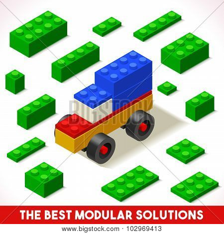 Toy Block Car Games Isometric