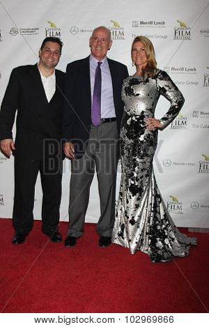 LOS ANGELES - SEP 25:  Ron Truppa at the Catalina Film Festival Friday Evening Gala at the Avalon Theater on September 25, 2015 in Avalon, CA