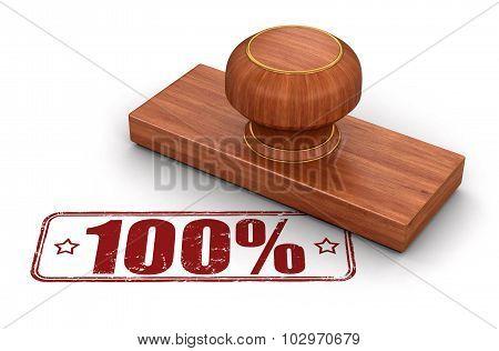 Stamp 100%