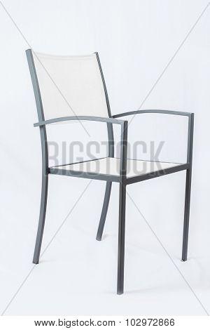 White Garden-Chair