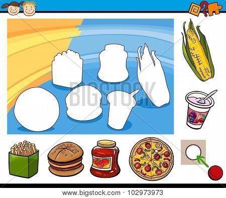 Cartoon Educational Preschool Task