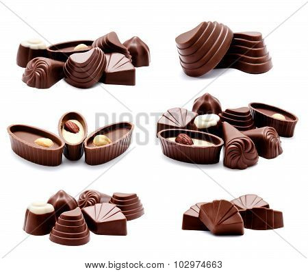 Collection Of Photos Assortment Of Chocolate Candies