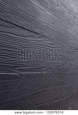 Black Wood Plank Panel Texture Background