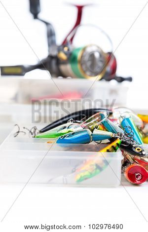 Fishing Tackles, Fishing Lure And Fishing Bait