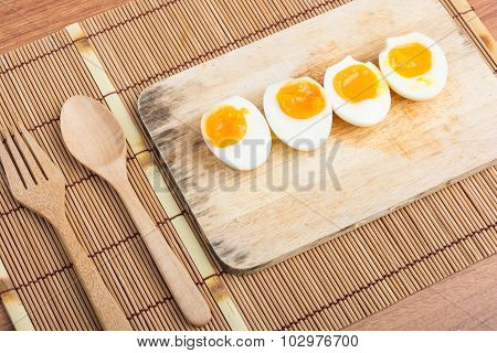 Organic Boiled Eggs Ready To Eat