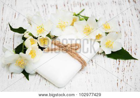 Soap With Jasmine Flower