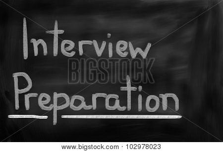 Interview Preparation Concept