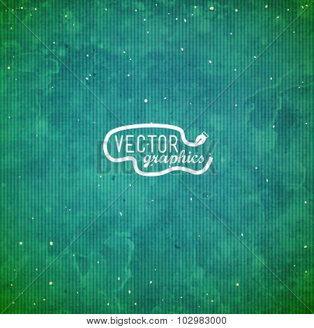 Green grunge vector paper texture for background