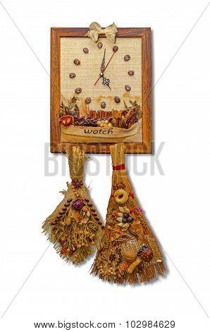 wall clock dekorativnye