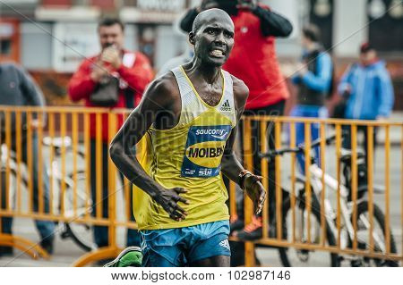 Kenyan Laban Kipkemoi Moiben winner Siberian international marathon
