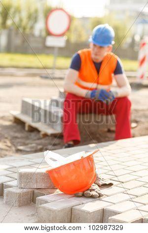 Leaving A Construction Site