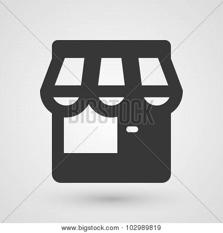 Black Store Icon