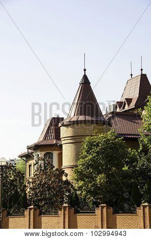 Modern Building In Kiev.