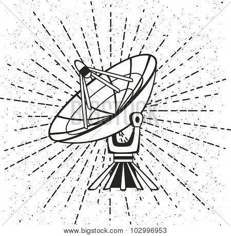 parabolic sattelit