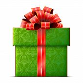 Постер, плакат: Gift Box Isolated On White Background
