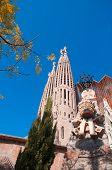Постер, плакат: Храм Церковь Саграда Фамилия Барселона