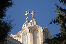 image of trinity  - The Holy Trinity church in the Russian Compound Jerusalem Israel - JPG