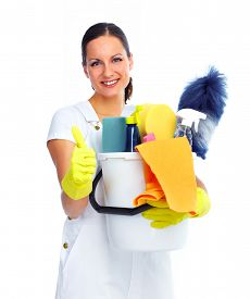 pic of maids  - Young smiling maid - JPG