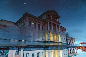 stock photo of century plant  - House superiors Ridge Ural mining plants  - JPG