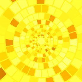picture of bine  - Yellow Mosaic Background - JPG