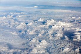 image of ozone layer  - Above the clouds - JPG