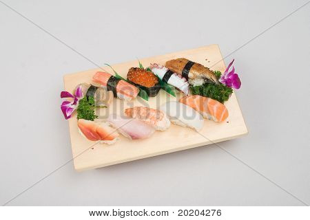 Asian food series:japanese food - sushi