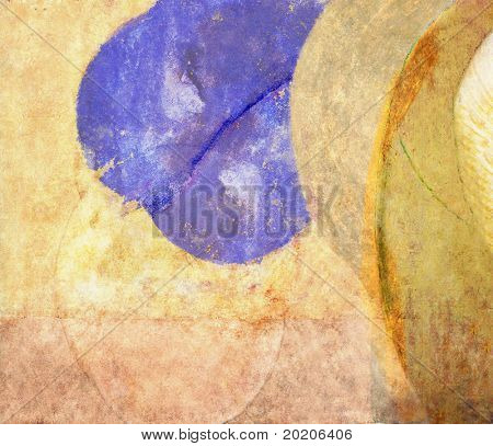 abstract multi-colored background image with interesting texture which is very useful for design purposes