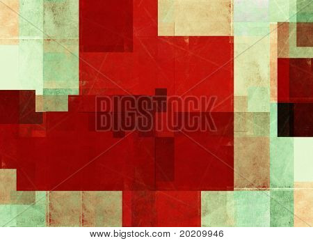 geometric multi-colored background image with interesting earthy texture