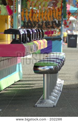 Carnival Midway Stools