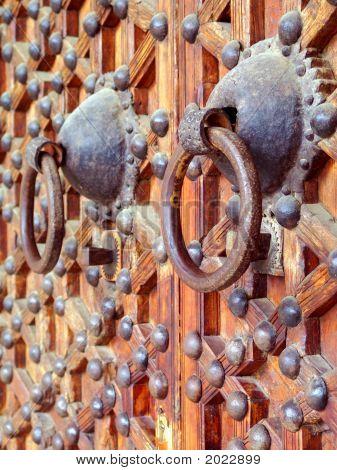 Ancient Church Door