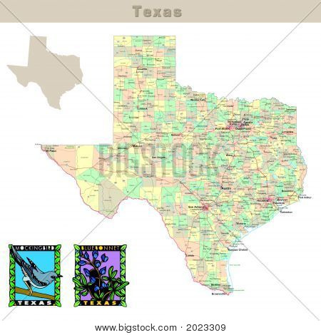 Usa States Series: Texas