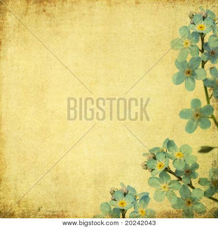 earthy background image with floral elements. useful design element.