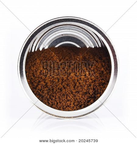 cans of instant coffee