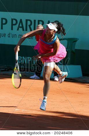 Shuai Peng (chn) At Roland Garros 2011
