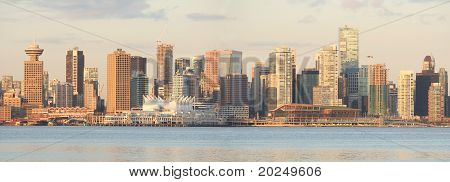 Vancouver Cityscape Panorama