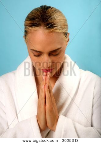 Prayerful Pose