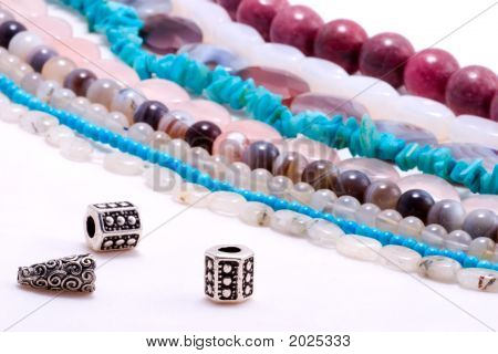 Strings Of Gem Stones Beds
