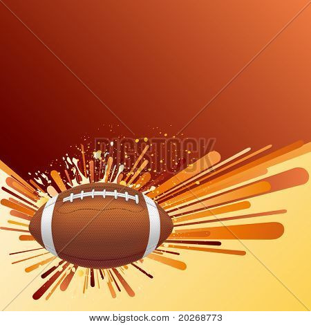 vector background of american football